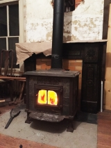 <h5>Wood-burning Stove</h5><p>Heating the house mostly with wood to save money																																																																																																																																																																							</p>
